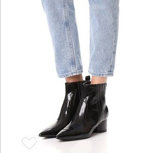 Kendall and Kylie Patent Booties Great Condition
